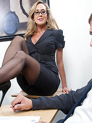Naughty Office, Brandi Love was my personal Earliest Fuck Teacher