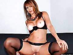 Horny big tis milf monica gets tipsy at the bar then gets her hot body fucked hard in these lounge pics