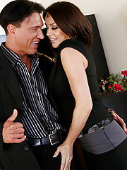 Office Sex, Chanel Preston gets naughty with a client and fucks on her desk.