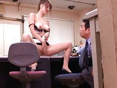 Kaera Uehara Teacher takes off her clothes and exposes fine tits